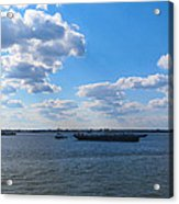 South Ferry Water Ride17 Acrylic Print