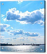 South Ferry Water Ride19 Acrylic Print