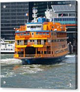 South Ferry Water Ride2 Acrylic Print
