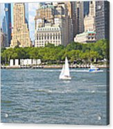 South Ferry Water Ride4 Acrylic Print