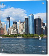 South Ferry Water Ride5 Acrylic Print