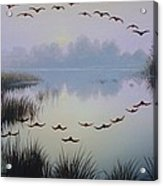 South Lake At Dawn Acrylic Print