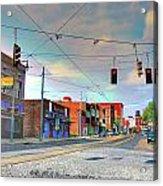 South Main Street Memphis Acrylic Print
