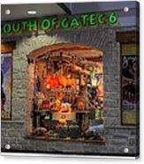 South Of Gate C6 Acrylic Print