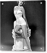 South Sea Woman, Virginia Mayo, 1953 Acrylic Print by Everett