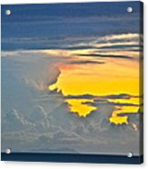 South Seas Yellow Acrylic Print