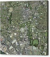 Southampton,uk, Aerial Image Acrylic Print