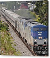Southbound Amtrak Silver Star Acrylic Print