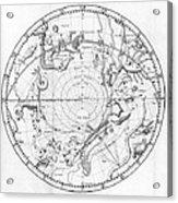 Southern Celestial Map Acrylic Print