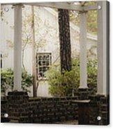Southern Pergola Charm Acrylic Print