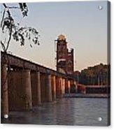 Southern Railroad Bridge Acrylic Print