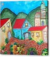 Southwest Village Acrylic Print