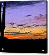 Southwestern Style Sunrise  Acrylic Print