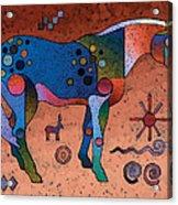 Southwestern Symbols Acrylic Print