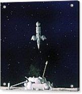 Soviet Luna 16 Spacecraft, 1970 Acrylic Print