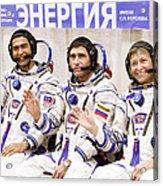 Soyuz Tma-11 Space Crew Acrylic Print