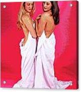 Spa Sisters Acrylic Print