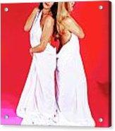 Spa Sisters Time Acrylic Print