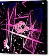 Space Battle Acrylic Print