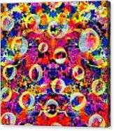 Space Bubbles Acrylic Print