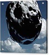 Space Exploration, Conceptual Image Acrylic Print by Detlev Van Ravenswaay