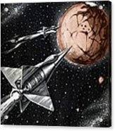 Space Exploration Science-fiction Artwork Acrylic Print