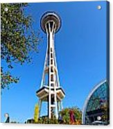 Space Needle In Seattle Washington  Acrylic Print