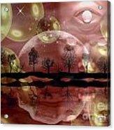 Space Planet Acrylic Print