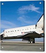 Space Shuttle Atlantis Acrylic Print
