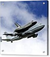 Space Shuttle Enterprise Acrylic Print