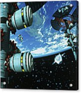 Space Stations Acrylic Print