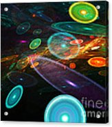 Space Travel In 2112 Acrylic Print