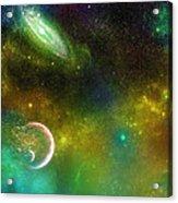Space001 Acrylic Print by Svetlana Sewell