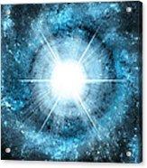 Space006 Acrylic Print by Svetlana Sewell
