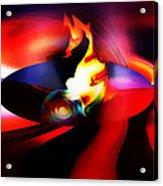 Spaceship Malfunction Acrylic Print by Terril Heilman