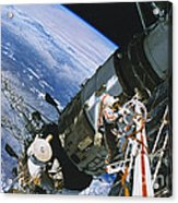 Spacewalk Acrylic Print