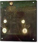 Spain: Automobile, 1909 Acrylic Print