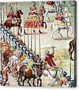 Spain: Higueruela, 1431 Acrylic Print
