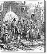 Spain: Madrid, 1848 Acrylic Print by Granger