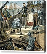 Spanish Armada Acrylic Print by Granger