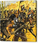 Spanish Conquistadors Acrylic Print