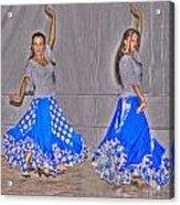 Spanish Dancers Acrylic Print