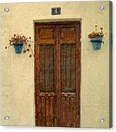 Spanish Doorstep Acrylic Print