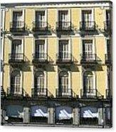 Spanish Facade Madrid Acrylic Print