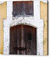 Spanish Fort Door Castillo San Felipe Del Morro San Juan Puerto Rico Prints Poster Edges Acrylic Print