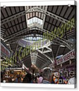 Spanish Market Acrylic Print by Robert Cabrera