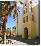 Spanish Mission In Todos Santos Acrylic Print