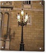 Spanish Street Light Acrylic Print