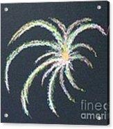 Sparkler Acrylic Print by Alys Caviness-Gober