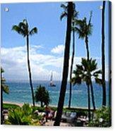 Sparkling Sea At Kaanapali Maui Acrylic Print